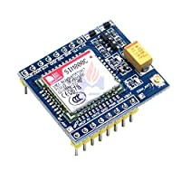 SIM800C GSM GPRS モジュール 5 ボルト 3.3 ボルト TTL 開発ボード IPEX Bluetooth と TTS STM32 Arduino の C51