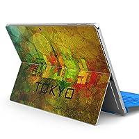Surface pro6 pro2017 pro4 専用スキンシール サーフェス ノートブック ノートパソコン カバー ケース フィルム ステッカー アクセサリー 保護 東京 風景 景色 010495