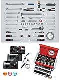 KTC(京都機械工具株式会社):工具セット(チェストタイプ) SK4580EZ