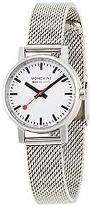 [モンディーン]MONDAINE 腕時計 エヴォ レディース ホワイト文字盤 メッシュメタルブレスレット A658.30301.11SBV レディース [正規輸入品]