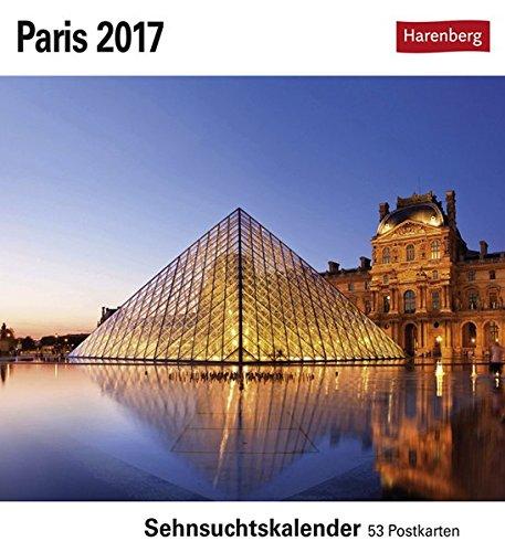 Paris 2017: Sehnsuchtskalender, 53 Postkarten
