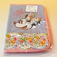 マザーズ <ミニーマウス> お花柄 母子手帳ケース