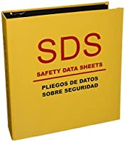 Aurora 13086 3-Inch Capacity Heavy Duty Yellow D Ring SDS Binder [並行輸入品]