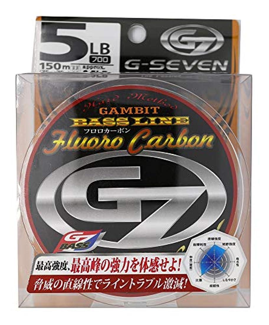 こどもセンターなので慣性G7(ジーセブン) ライン トーナメント ジーン フロロ 5Lb.