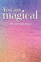 """You Are Magical, 2019-2020 Planner: 17-Month Weekly & Monthly Planner (Aug 2019 - Dec 2020), 6"""" x 9"""""""