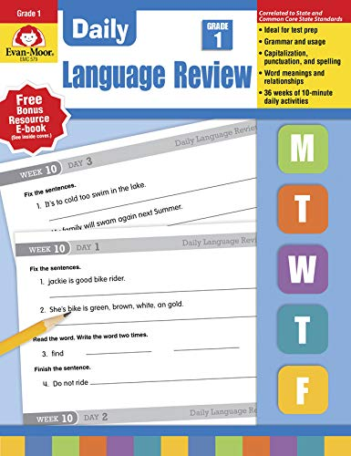 Download Daily Language Review Grade 1 1557996555