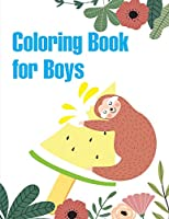 Coloring Book for Boys: Mind Relaxation Everyday Tools from Pets and Wildlife Images for Adults to Relief Stress, ages 7-9 (Christian Color)