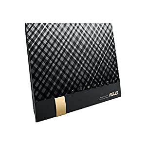 ASUS  1734+800Mbps(11a/b/g/n/ac)  スタイリッシュなデュアルバンドギガビットWi-Fi高速無線ルーター RT-AC85U(利用目安環境 最大15台/3階建・4LDK)