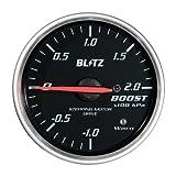 BLITZ(ブリッツ) RACING METER SD(レーシングメーターSD) 丸型アナログメーター φ60 BOOST METER 19561