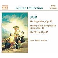 ソル:6つのバガテル Op. 43/24の斬新的な小品 Op. 44/6つの小品 Op. 45