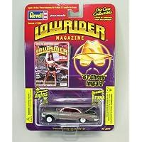 ローライダーマガジンミニカー REVELL LOWRIDER MAGAZINE 1/64 1961 Chevy Impala(Silver) シェビー/インパラ/シボレー/レベル/1:64/シルバー/銀/