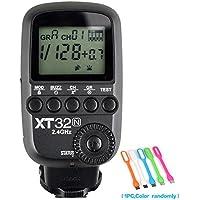 Godox xt32-n高速同期1/ 8000s 2.4Gワイヤレスリモート制御フラッシュトリガートランスミッターfor Nikonカメラ+ conxtrue USB LED無料ギフト