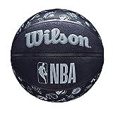Wilson(ウイルソン) バスケットボール NBA ALL TEAM BSKT (7号球 NBA オール チーム) メンズ WTB1300XBNBA 7号/ 直径約24.5cm BLACK
