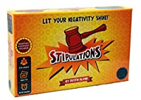 Stipulations Party Game, Let Your Negativity Shine
