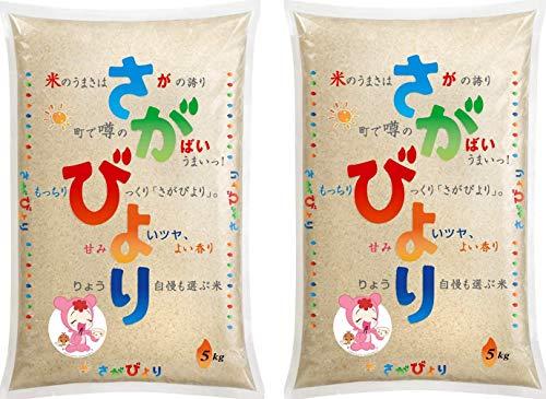【精米】さがびより10kg(5kg×2)【あうちの里栽培研究会の減農薬特別栽培限定】令和元年産