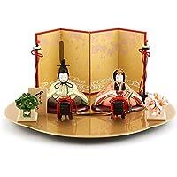 雛人形 一秀 ひな人形 雛 木目込人形飾り 平飾り 親王飾り 木村一秀作 さくらさくら 刺繍 1-3号 h303-ic-122