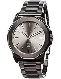 [ペリー・エリス]Perry Ellis 腕時計 DECAGON(デカゴン) クォーツ 42 mmケース ステンレススティールバンド 08005-02 メンズ 【正規輸入品】