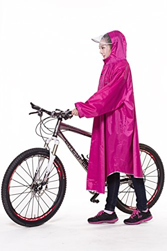 レインコート 自転車 バイク ロング ポンチョ 男女兼用 通...