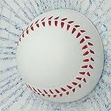 カー ステッカー おもしろ ビックリ めりこみ ボール (野球ボール)