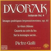 DVORAK/ INTEGRALE OEUVRE POUR PIANO VOL.4