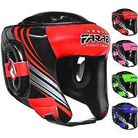 Farabiヘッドガードボクシング総合格闘技タイ式ワークアウトPractice、フル面HeadguardヘッドプロテクターHeadgear