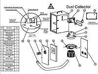 金泰 小型静音集塵機 ダストコレクターの部品