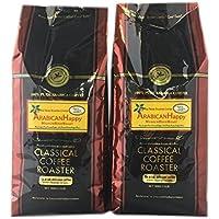コーヒー豆 アラビカンハッピー 1kg ( 500g×2袋 ) セット【 豆のまま 】クラシカルコーヒーロースター