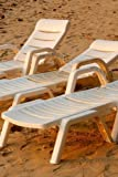 Three White Lounge Chairs on the Beach in Florida Journal: Take Notes, Write Down Memories This 150 Page Lined Journal Createspace Independent Pub