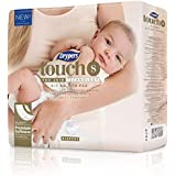 Drypers Touch Diapers, S, 70 Count