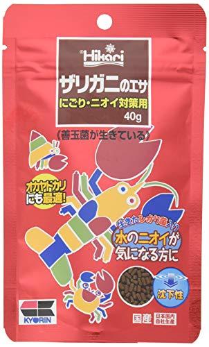 ヒカリ (Hikari) ザリガニのエサ にごり・ニオイ対策用 40g