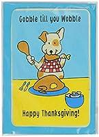 Crunchkins Edible Crunch Card Gobble Till You Wobble Happy Thanksgiving [並行輸入品]