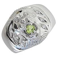 プレジュール シルバー メンズリング ライオンリング 指輪 メンズ リングサイズ17号