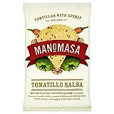 (Manomasa) トマティロサルサトルティーヤチップスの160グラム (x4) - Manomasa Tomatillo Salsa Tortilla Chips 160g (Pack of 4) [並行輸入品]