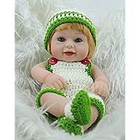Nicery 生まれ変わった赤ちゃん人形おもちゃハードシミュレーションシリコンビニール11インチ28cm防水おもちゃとギフト Reborn Baby Doll RD28B009G