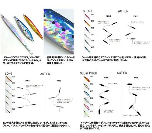 メジャークラフト メタルジグ ジグパラ バーチカルスローピッチ JPVSP-120 #15 ケイムライワシ