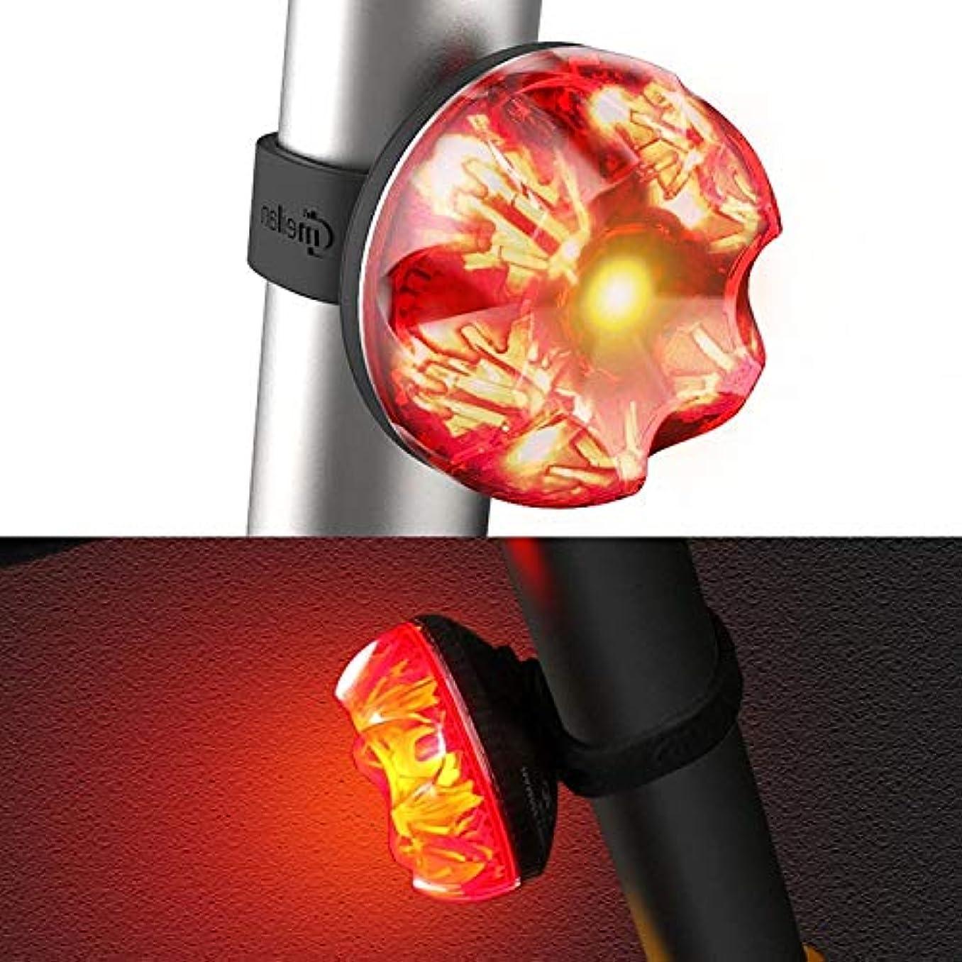 差し迫った市民ユーモラスS1 7 LED 80LM USB充電優れたサイクリングバイクブレーキライトIPX 5防水