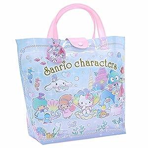 高波クリエイト サンリオキャラクターズ プールバッグ ビーチバッグ 水着バッグ バケット 075236