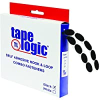 Tape Logic HLT180 Rubber Based Dot Roll Combo Pack 1/2 Diameter Black [並行輸入品]