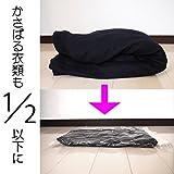 【Amazon.co.jp限定】 掃除機不要!  衣類圧縮袋 M 10枚組 日本製 旅行 旅行用 画像