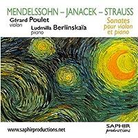 Mendelssohn/Janacek/Strauss: V