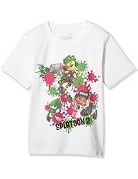 [スプラトゥーン] Tシャツ Kids ナワバリバトル キッズ 22823712