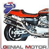 Termignoni / テルミニョーニ 2X1X2 RACING, STAINLESS STEEL HARLEY-DAVIDSON XR 1200 R | HD02094CR