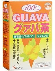 アルファ 100%グァバ茶 3gx30包