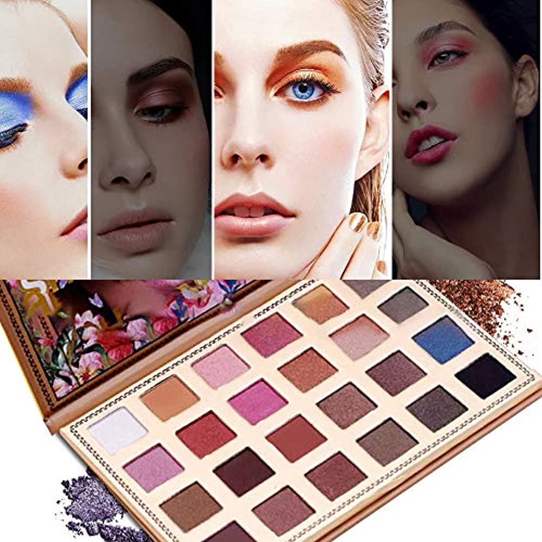 優勢アラブサラボアンソロジーAkane アイシャドウパレット Glamour beauty 人気 長持ち キラキラ 魅力的 真珠光沢 綺麗 チャーム ファッション おしゃれ 持ち便利 Eye Shadow (24色) YF9829