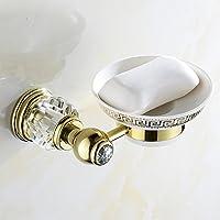 トイレのアクセサリーウォールマウントされた真鍮の石鹸の皿