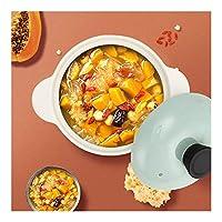 絶縁耐熱2.8Lキャセロールディッシュスキレットパンファインデザインデュアルハンドルキャセロール調理器具スープフライパン鍋イージーグリップハンドルキャセロールパンポット (Color : Casseroles)