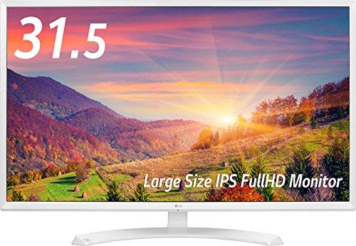 LG 32MP58HQ-W ディスプレイ・モニター 31.5インチ/IPSハーフグレアパネル/フルHD/HDMI