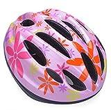 かぶりたくなる 驚くほど 軽い こども 用 ヘルメット うれしい アジャスター 付き (b.ピンク)