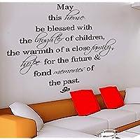 樱のホーム 取り外し可能な壁のステッカーの装飾 供部屋ベビーベッドルーム ウォールステッカー(ブラック)