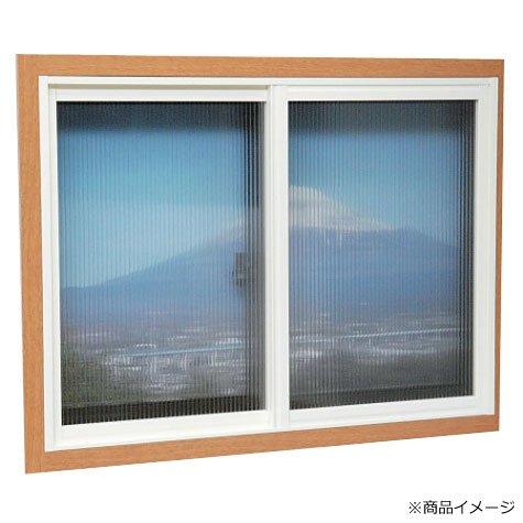 RoomClip商品情報 - 簡易内窓用フレーム&レールキット 中窓用・ブラウン PTB-D